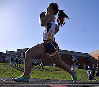 Scenes from theFive Team Track Meet at Perryville High School.