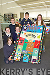 ART EXPO: The pupils of Fybough NS, Keel who participate in Revelation a visual exposition of creativity and innovation in Kerry school communities at IT Tralee on Friday l-r: Kelly O'Shea, Laura Benson, Marie Galvin, Eoin Foley, Dean Ladden and Dora Wynne Morgan.