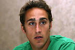 Josh Wolff on Wednesday, May 17th, 2006 at Embassy Suites Hotel in Cary, North Carolina. The United States Men's National Soccer Team held player interview sessions as part of their preparations for the upcoming 2006 FIFA World Cup Finals being held in Germany.