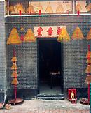 CHINA, Macau, Taipa, Asia, incense at the entrance of temple