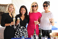 Steph Jensen, Yumi Matsuo, Carli Roth and Laura Eurdolian attend The Hampton Classic 2014 on Aug. 27, 2014 (Photo by Taylor Donohue / Guest of a Guest)