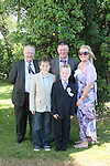 Jack Scullion with his family and Grandpa William Sadler at the Walshestown NS Communion in St.Pauls Church....Photo NEWSFILE/Jenny Matthews.(Photo credit should read Jenny Matthews/NEWSFILE)....This Picture has been sent you under the condtions enclosed by:.Newsfile Ltd..The Studio,.Millmount Abbey,.Drogheda,.Co Meath..Ireland..Tel: +353(0)41-9871240.Fax: +353(0)41-9871260.GSM: +353(0)86-2500958.email: pictures@newsfile.ie.www.newsfile.ie.FTP: 193.120.102.198.