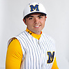Andrew Primm of Massapequa poses for a portrait during Newsday's varsity baseball season preview photo shoot at company headquarters in Melville on Friday, March 23, 2018.