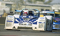 The #20 Ford Riley & Scott Mk III of Rob Dyson, James Weaver, Max Papis and Elliott Forbes-Robinson races to a 4th place finish in the Rolex 24 at Daytona, Daytona International Speedway, Daytona Beach, FL, February 2000.  (Photo by Brian Cleary/www.bcpix.com)