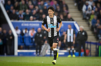 Ki Sung-Yueng of Newcastle United during the Premier League match between Leicester City and Newcastle United at the King Power Stadium, Leicester, England on 29 September 2019. Photo by Andy Rowland.