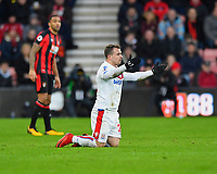 Xherdan Shaqiri of Stoke City appeals for a foul during AFC Bournemouth vs Stoke City, Premier League Football at the Vitality Stadium on 3rd February 2018