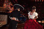 Mexican Dancers in David Arquette's Bootsy Bellows Dinner Theater Extravaganza on the Sunset Strip in West Hollywood, CA