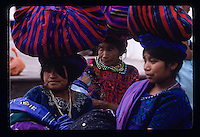 People and street scenes and everyday life in the cities  of Atitlan, Chichicastenango and Guatemala City in Guatemala. Photos taken April 1989. ©Anacleto Rapping