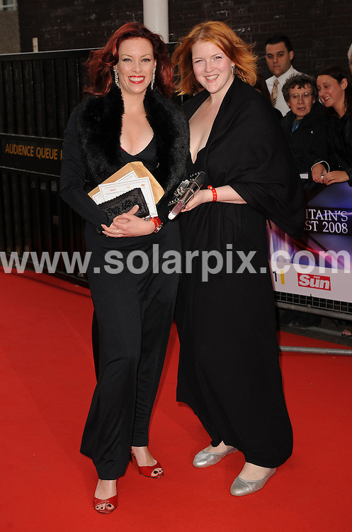**ALL ROUND PICTURES FROM SOLARPIX.COM** **WORLDWIDE SYNDICATION RIGHTS** .Red carpet arrivals at Britain's Best 2008. Held at the London Studios, Upper Ground, London. 18 May 2008. ..This pic: Sharon Marshall..JOB REF: 6438 SSD DATE: 18_05_2008 **MUST CREDIT SOLARPIX.COM OR DOUBLE FEE WILL BE CHARGED* *UNDER NO CIRCUMSTANCES IS THIS IMAGE TO BE REPRODUCED FOR ANY ONLINE EDITION WITHOUT PRIOR PERMISSION*