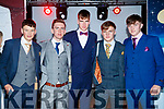 Denis Horgan, Robin Porter, Darragh Courtney, Luke Doherty, Joe Hanafin, Mercy Mounthawk Secondary School students, modelling at their annual Fashion Show at Mounthawk School Gym on Wednesday last.