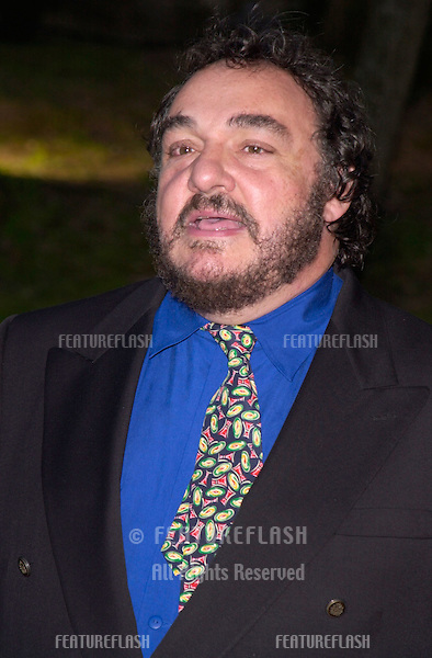 Actor JOHN RHYS-DAVIES at party in Cannes to promote his new movie The Lord of the Rings. The party was held in the medieval Chateau de Castellaras in Mougins..13MAY2001.  © Paul Smith/Featureflash