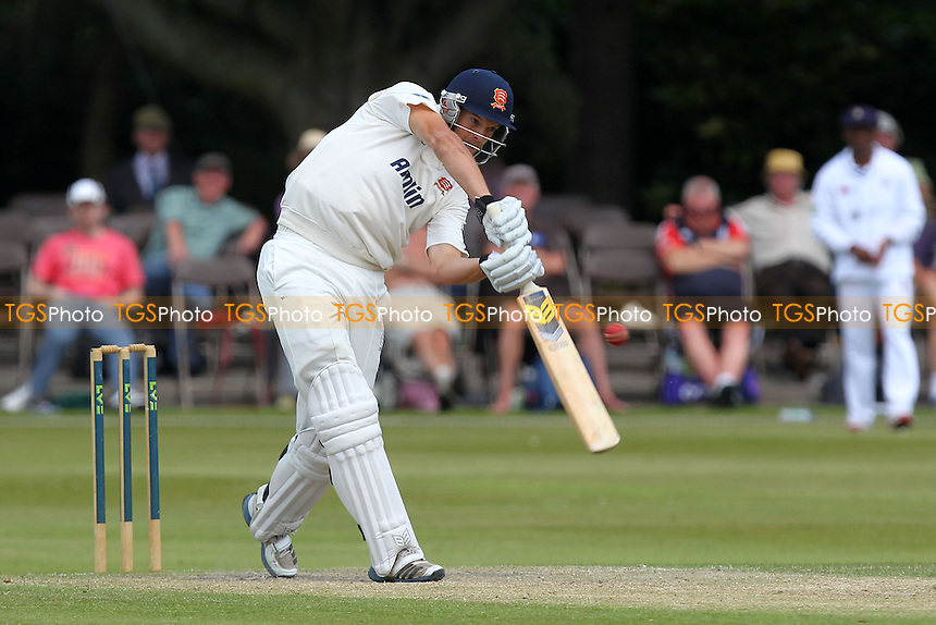 Nick Browne in batting action for Essex - Derbyshire CCC vs Essex CCC - LV County Championship Division Two Cricket at Queen's Park, Chesterfield - 09/07/14 - MANDATORY CREDIT: Gavin Ellis/TGSPHOTO - Self billing applies where appropriate - 0845 094 6026 - contact@tgsphoto.co.uk - NO UNPAID USE