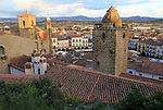 Historic medieval town of Trujillo, Caceres province, Extremadura, Spain