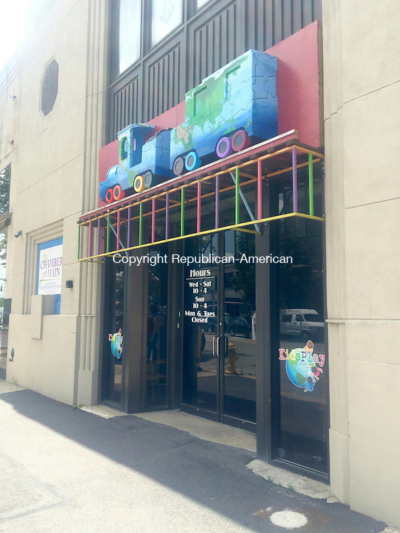 TORRINGTON, CT -- 10 July 2015 071015CH2 -- KidsPlay Children's Museum is expaning into the neighboring property at 69 East Main Street. New exhibits could be geared told older children or include larger, climbing structures. Carrie Grace Henderson Republican-American