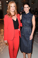 Sarah Jane Mee and Kirsty Gallagher<br /> at the Jasper Conran AW17 show as part of London Fashion Week AW17 at Claridges, London.<br /> <br /> <br /> &copy;Ash Knotek  D3230  17/02/2017