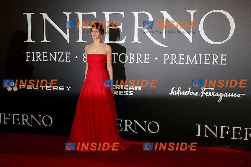 Felicity Jones<br /> Firenze 08-10-2016. 'Inferno' Anteprima Mondiale.<br /> Florence 8th October 2016. 'Inferno' World Premiere.<br /> Foto Samantha Zucchi Insidefoto