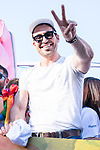 Actor Miguel Angel Silvestre during LGTB Pride March in Madrid. July 06, 2019. (ALTERPHOTOS/Francis González)