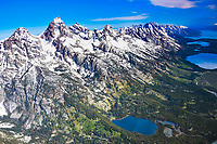 A view of the magnificent Teton Range from 12, 500 feet.