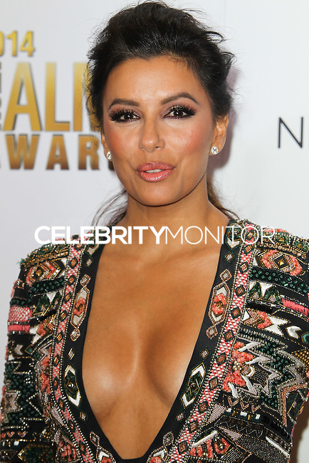 PASADENA, CA, USA - OCTOBER 10: Eva Longoria poses in the press room at the 2014 NCLR ALMA Awards held at the Pasadena Civic Auditorium on October 10, 2014 in Pasadena, California, United States. (Photo by Celebrity Monitor)