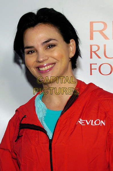 KAREN DUFFY.Entertainment Industry Foundation's 10th Anniversary Revlon Run/Walk for Women in Times Square, New York City, New York, USA, .5 May 2007 .portrait headshot red.CAP/ADM/BL.©Bill Lyons/AdMedia/Capital Pictures. *** Local Caption ***