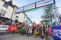 Picture by Alex Whitehead/SWpix.com - 15/07/2016 - Cycling - British Cycling Elite Circuit Series - Wales Open Criterium - Abergavenny, Monmouthshire, Wales.