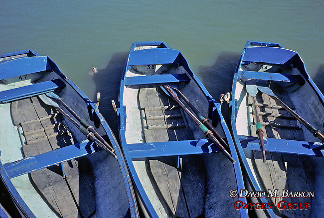 Three Row Boats For Rent On The Canal