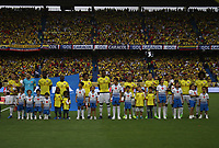 BARRANQUILLA -COLOMBIA, 23-MARZO- Team of Colombia agaisnt of Bolivia  before match for the qualifiers for the World Cup of Soccer Russia 2018 played in the  Metropolitano Roberto Melendez stadium in Barranquilla . Photo:VizzorImage / Felipe Caicedo  / Staff