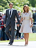 20.05.2017; Englefield, UK: ROGER AND MIRKA FEDERER<br /> attend the wedding of Pippa Middleton to James Mathews at St Mark&rsquo;s Church, Englefield.<br /> Princess Charlotte and Prince George were flower girl and page boy respectively for their aunt.<br /> Mandatory Photo Credit: &copy;Steph Dias/NEWSPIX INTERNATIONAL<br /> <br /> IMMEDIATE CONFIRMATION OF USAGE REQUIRED:<br /> Newspix International, 31 Chinnery Hill, Bishop's Stortford, ENGLAND CM23 3PS<br /> Tel:+441279 324672  ; Fax: +441279656877<br /> Mobile:  07775681153<br /> e-mail: info@newspixinternational.co.uk<br /> Usage Implies Acceptance of OUr Terms &amp; Conditions<br /> Please refer to usage terms. All Fees Payable To Newspix International