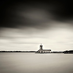 Normanton Church, Rutland Water, Leicestershire