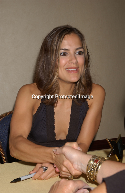 Rebecca Budig                                ..at the All My Children Fan Club Luncheon on August 10, 2003 at the Marriott Marquis in New York.                           Photo by Robin Platzer, Twin Images
