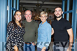 Laura, Brendan, Aileen and David Griffin from Ardfert, enjoying an evening out in the Ashe Hotel on Friday night.
