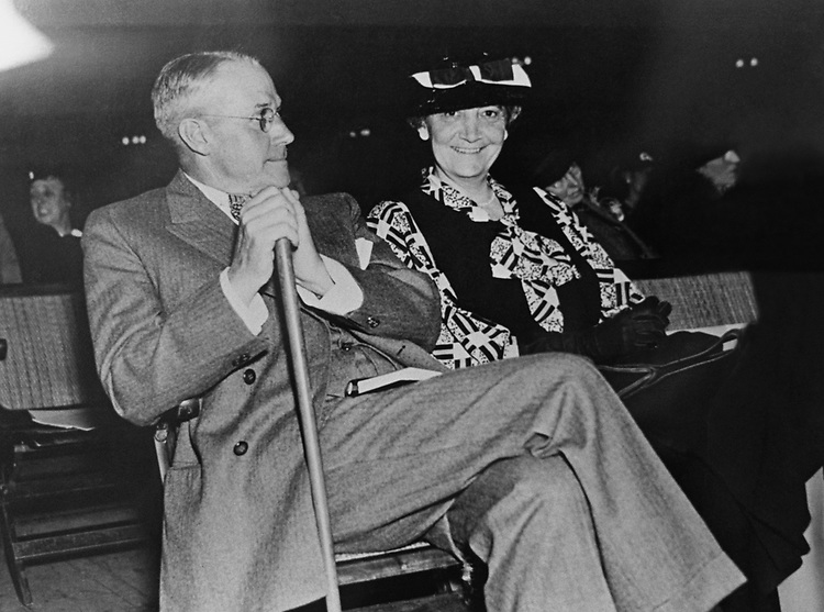 Former Rep. Albert G. Simms, R-N.M., Republican National Committee member from New Mexico with wife former Ruth Hanna McCormick, R-Ill., at Republican National Committee in Cleveland, Ohio, in 1936. Photo from the Libaray of Congress. (Photo by CQ Roll Call via Getty Images)