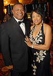 Terry Williams and his wife Joycelyn at the UNCF 21at Annual Black Tie Gala at the Hilton Americas Hotel Friday Dec. 04,2009. (Dave Rossman/For the Chronicle)