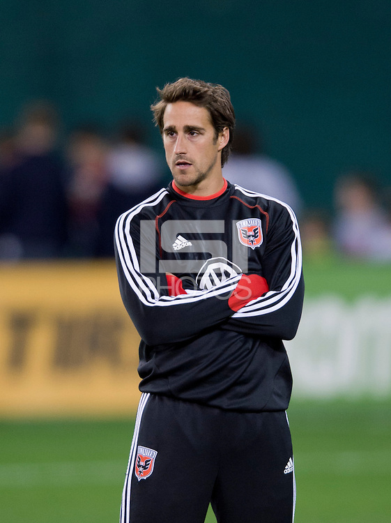 Josh Wolff.  D.C. United defeated Real Salt Lake, 1-0, at RFK Stadium.
