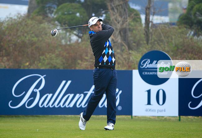 Ballantine's Championship 2013, Thursday Paul McGinley