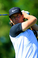 Kristoffer Broberg (SWE) during the second round of the Lyoness Open powered by Organic+ played at Diamond Country Club, Atzenbrugg, Austria. 8-11 June 2017.<br /> 09/06/2017.<br /> Picture: Golffile | Phil Inglis<br /> <br /> <br /> All photo usage must carry mandatory copyright credit (&copy; Golffile | Phil Inglis)