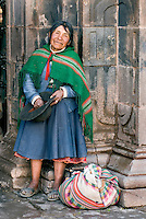 While over 1 million tourists visit Cusco every year poverty levels in the former Inca capital city remain high. Increasingly elderly poor expect to be compensated for photographs taken by tourists.