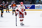 Stockholm 2014-02-24 Ishockey Hockeyallsvenskan Djurg&aring;rdens IF - S&ouml;dert&auml;lje SK :  <br /> S&ouml;dert&auml;ljes Robert Carlsson deppar efter att Djurg&aring;rdens Michael Holmqvist gjort 2-0 f&ouml;r Djurg&aring;rden<br /> (Foto: Kenta J&ouml;nsson) Nyckelord:  depp besviken besvikelse sorg ledsen deppig nedst&auml;md uppgiven sad disappointment disappointed dejected