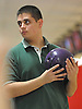 Chris Vietri of Holy Trinity prepares to roll during the NYSCHSAA boys bowling individual championship at AMF Babylon Lanes on Saturday, Mar. 5, 2016. He rolled a four-game series of 982. As a top five finisher (second place) in the tournament, he qualified for a step ladder format playoff which he won to claim the Catholic state crown.
