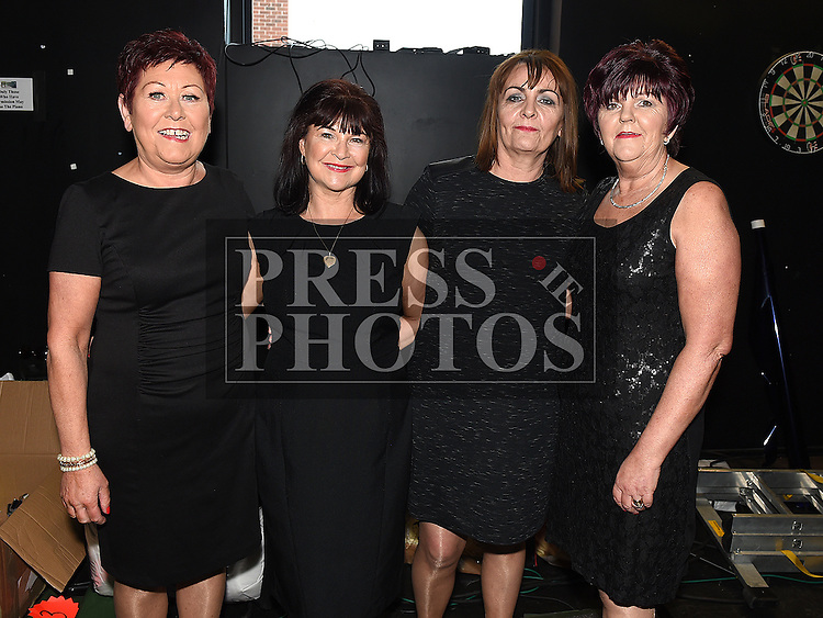 Ann Reilly, Margo Garvey, Marie Mosley and Mary Everitt who took part in the Moneymore strictly come dancing event in The Barbican Centre. Photo:Colin Bell/pressphotos.ie