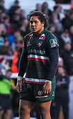 4th November 2017, Welford Road, Leicester, England; Anglo-Welsh Cup, Leicester Tigers versus Gloucester;  Fred Tuilagi in action for Leicester Tigers