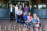At the launch of the Rose of Tralee 10k at the Rose Hotel on Friday evening were, Chairman of Tralee Harriers Martin Fitzgerald, Derek Griffin, Mayor of Tralee Terry O'Brien, Kerry Rose Breda O'Mahony, and Michelle Greaney.  Race Director Martin O'Sullivan, Alanna O'Sullivan, Grace Creedon, Mary Fitzmaurice, General Manager of The Rose Hotel Mark Sullivan, Emer Hogan and Vice-Chairman Gene O'Donnell