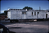 Side view of of D&amp;RGW ex-RPO cook car #053 assigned to rotary #OY's consist.<br /> D&amp;RGW    ca. 1964