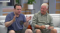 Celebrity Big Brother 2017<br /> Shaun Williamson and Derek Acorah.<br /> *Editorial Use Only*<br /> CAP/KFS<br /> Image supplied by Capital Pictures