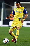 Chievo's Ivan Radovanovic in action during the Serie A football match Chievo Verona vs Roma at Verona, on March 22, 2014.  <br /> &copy; Pierre Teyssot