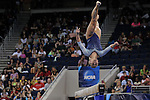 21 APR 2012:  Sam Peszek of UCLA performs on the beam during the Division I Women's Gymnastics Championship held at the Gwinnett Center Arena in Duluth, GA. Joshua Duplechian/NCAA Photos