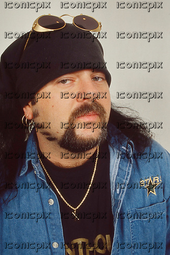 Pantera - Vinnie Paul Abbott - photosession in London UK - 01 May 1996. Photo credit: George Chin/IconicPi