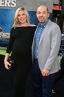 HOLLYWOOD, CA - JULY 9: June Diane Raphael, Paul Scheer at the premiere of Sony Pictures' 'Ghostbusters' held at TCL Chinese Theater on July 9, 2016 in Hollywood, California. Credit: David Edwards/MediaPunch