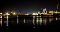 Bay Shipbuilding Company in Sturgeon Bay Wisconsin, has been building ship since 1918.