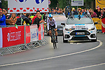 Mikel Nieve (ESP) Team Sky in action during Stage 1, a 14km individual time trial around Dusseldorf, of the 104th edition of the Tour de France 2017, Dusseldorf, Germany. 1st July 2017.<br /> Picture: Eoin Clarke | Cyclefile<br /> <br /> <br /> All photos usage must carry mandatory copyright credit (&copy; Cyclefile | Eoin Clarke)